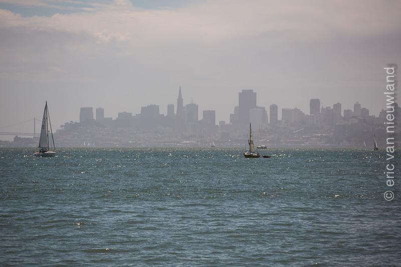 view on San Francisco of sauselito